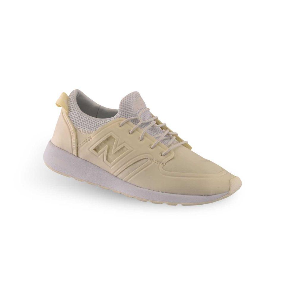 zapatillas new balance beige mujer