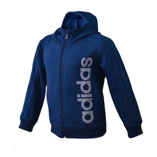campera-adidas-lk-kn-fz-hoddie-junior-bq2450