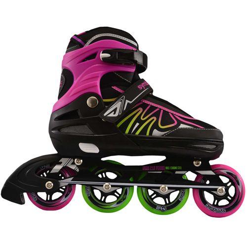 rollers-extensibles-symbolic-r01097-rosa-y-amarillo-fluor