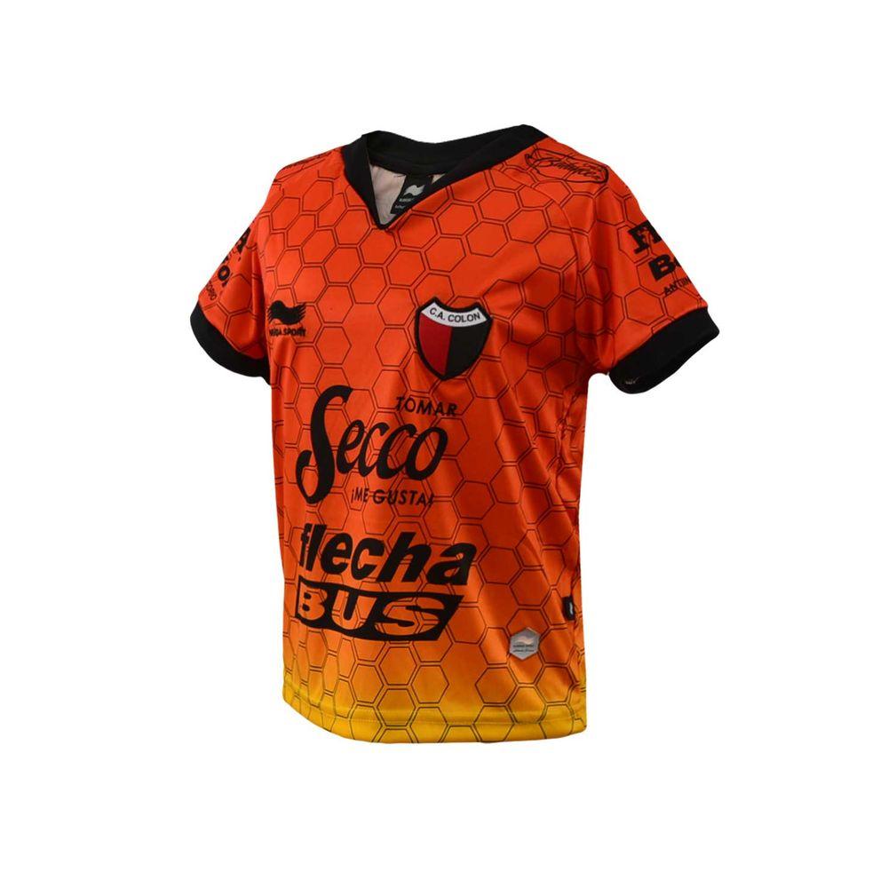 2f95b1d12 CAMISETA BURRDA SPORT CLUB ATLÉTICO COLÓN ARQUERO 2017 NIÑO - redsport
