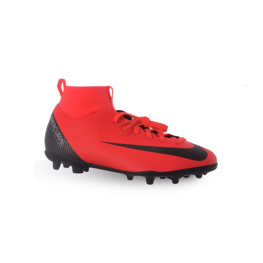 f33c242d BOTINES NIKE FÚTBOL CAMPO MERCURIAL SUPERFLY 6 CR7 CLUB NIÑO - redsport