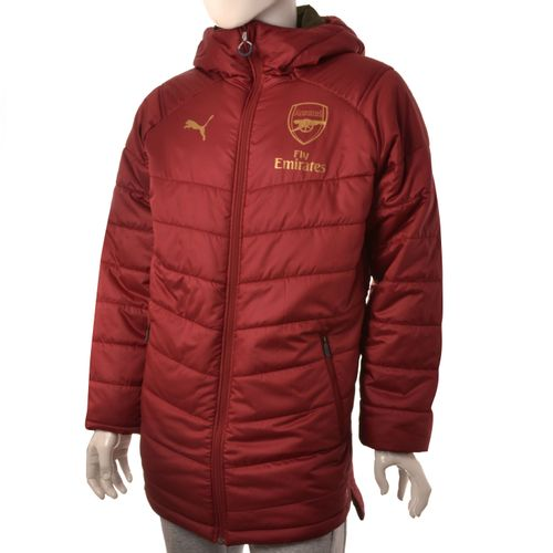 ca86625ba78 CAMPERA PUMA ARSENAL FC BENCH JACKET REVERSIBLE