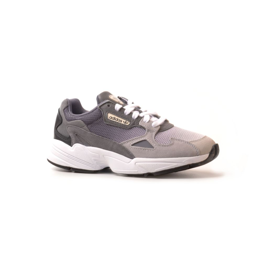 adidas falcon mujer grises