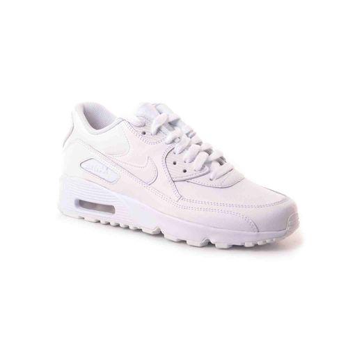 zapatillas-nike-air-max-90-leather-junior-833412-100